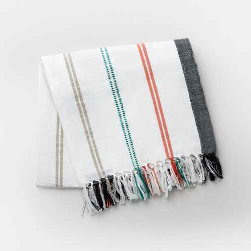 "50"" x 60"" Multi-Stripe Outdoor Throw - Threshold™"