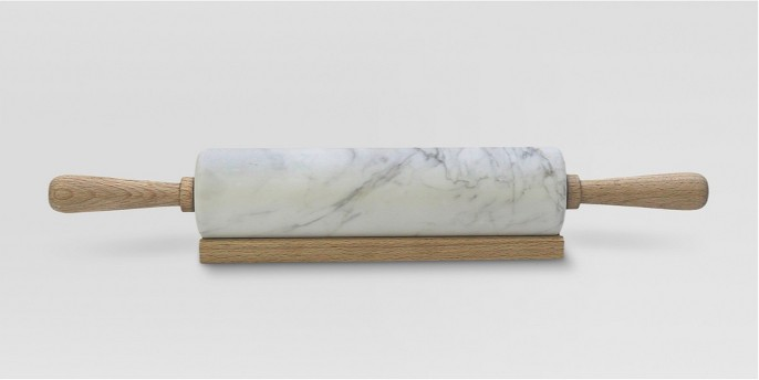 Marble Rolling Pin with Wood Handles - Threshold™