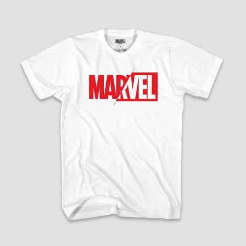 Men's Short Sleeve Marvel Graphic T-Shirt - White