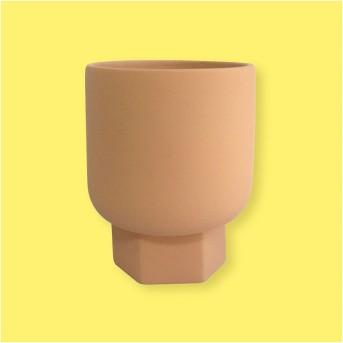 Hexagon Stoneware Planter Terracotta - Project 62™
