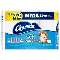 Charmin Ultra Soft 18 Mega Roll
