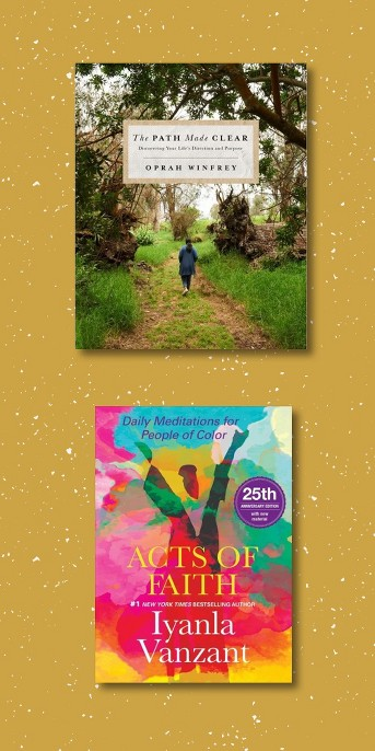 Path Made Clear : Discovering Your Life's Direction and Purpose -  by Oprah Winfrey (Hardcover), Acts of Faith : Daily Meditations for People of Color -  by Iyanla Vanzant (Paperback)