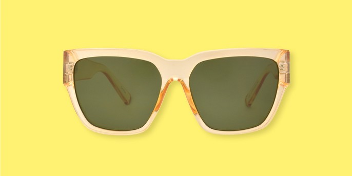 Women's Sunglasses - A New Day™ Crystal Tan