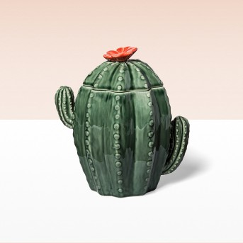 67.6oz Stoneware Cactus Cookie Jar Green  - Opalhouse™