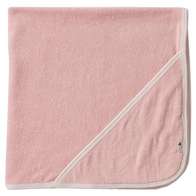 Burt's Bees Baby® Organic Cotton Hooded Bath Towl - Blossom Pink