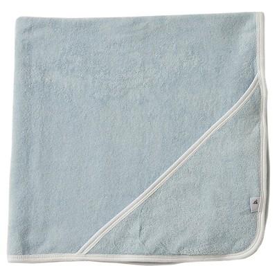 Burt's Bees Baby™ Newborn Hooded Bath Towl - Blue Sky