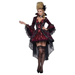 Scream Queen Horror Fulbody Costume - Red