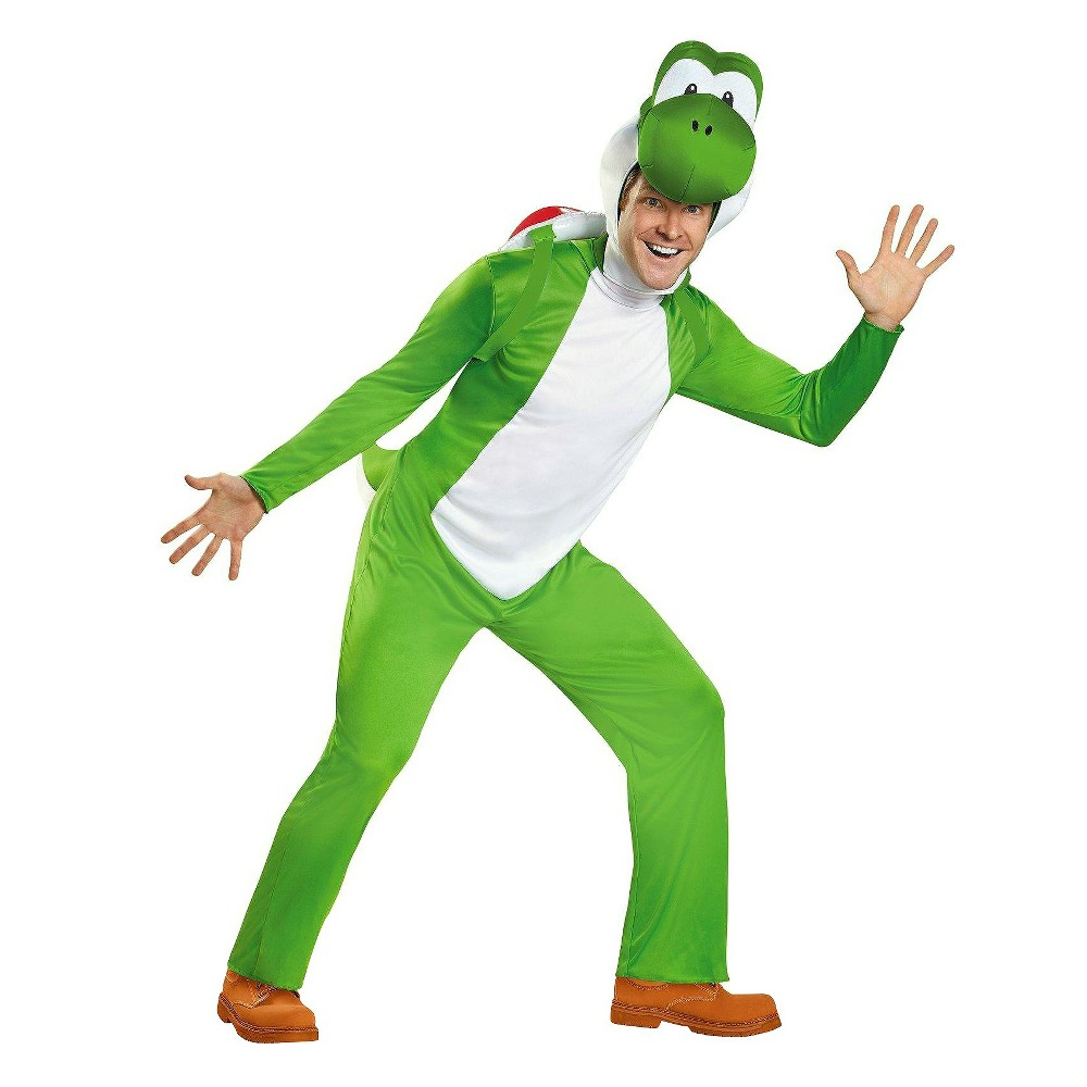 Mens Yoshi Costume (XL), Green