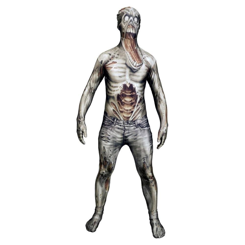 Mens Horror Costume Large, Gray