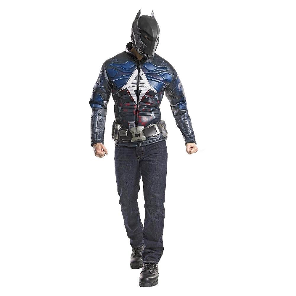Batman Mens Costume X-Large, Size: XL, Black