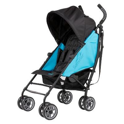 Summer Infant® 3Dflip Reversible Front or Rear Facing Convenience Stroller - Blue