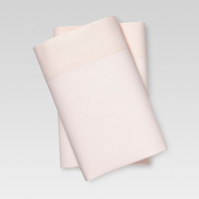 Vintage Wash Percale Pillowcase Set (King)Possibly Pink - Threshold™