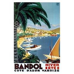 Art.com - Bandol Hiver Ete