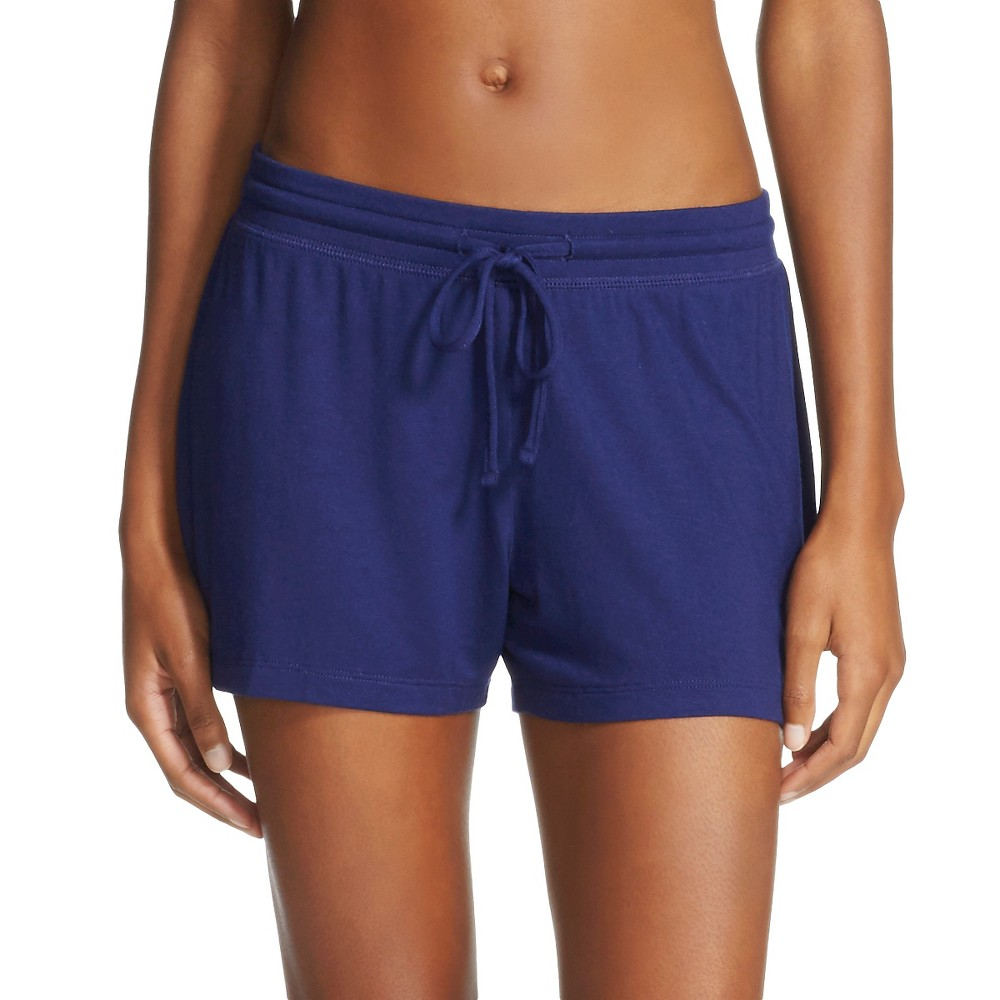 Womens Pajama Shorts Total Comfort - Nighttime Blue S