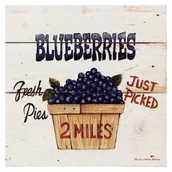 Art.com - Blueberries Just Picked