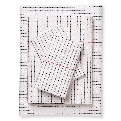 Brooklyn & Bond™ Poplar Dot Sheet Set King White&- Navy