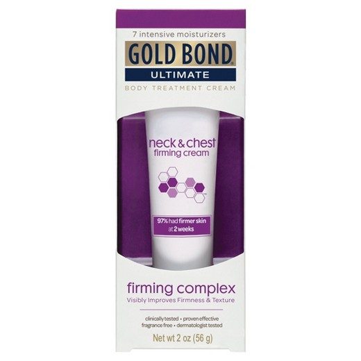 Gold bond ultimate neck chest firming cream 2 oz target - Geldt bold ...