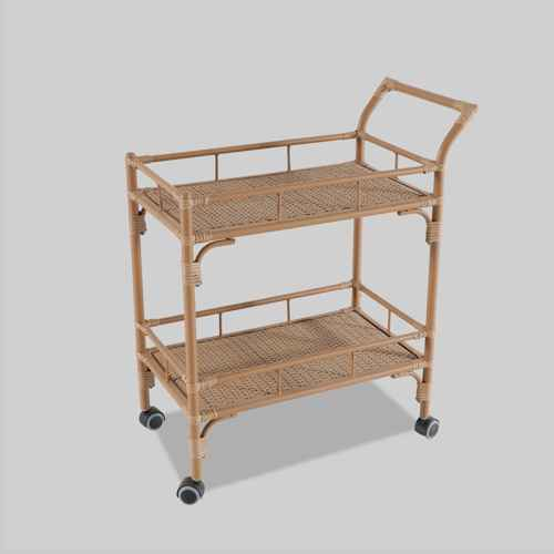 Britanna Patio Bar Cart Natural - Opalhouse™