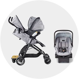 Travel Systems Lightweight Strollers Double Triple Quad Car Seat Carriers