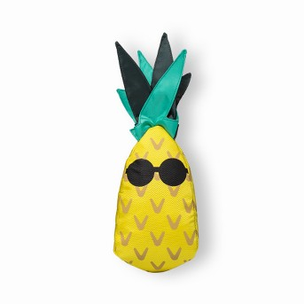 Pineapple Dog Toy - Yellow - Sun Squad™