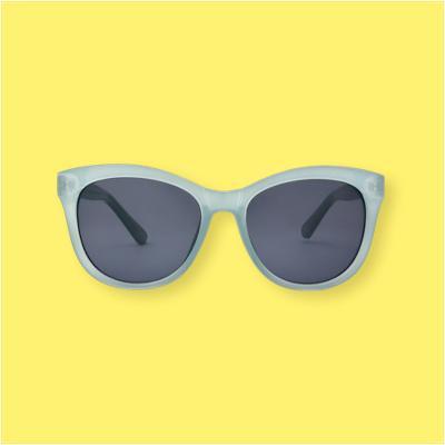 Women's Smoke Sunglasses - A New Day™ Pastel Blue
