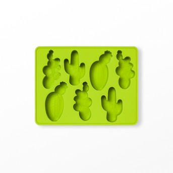 12oz Silicone Cactus Ice Mold