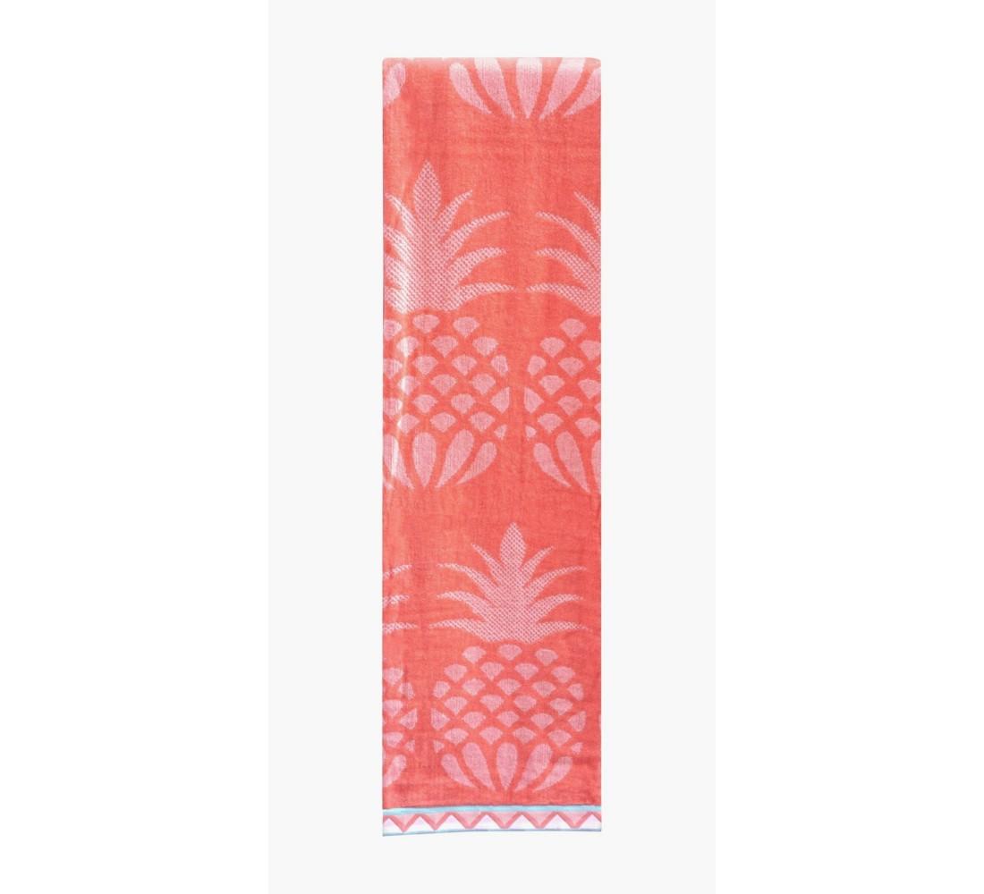 XL Pineapple Beach Towel Desert Flower