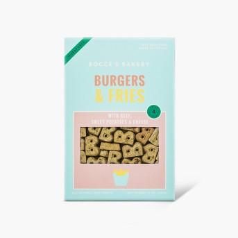 Bocce's Bakery Burgers & Fries Dog Treats - 14oz