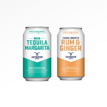 Cutwater Spirits Lime Margarita - 4pk/12 fl oz Cans