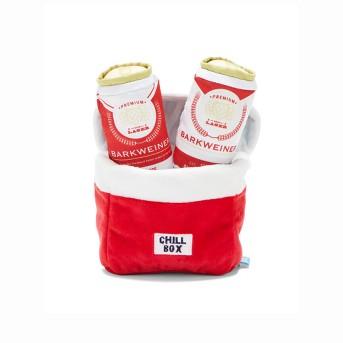 BARK Beer Cooler Dog Toy - Bite Lite Beer Cooler
