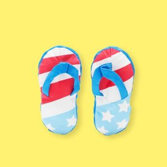 BARK Flip Flop Dog Toy - Freedom Flip Flops