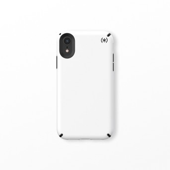 Speck Apple iPhone XR Presidio Pro Soft Touch Case - White/Black
