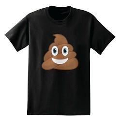 Men's IML Smiling Poo T-Shirt Black