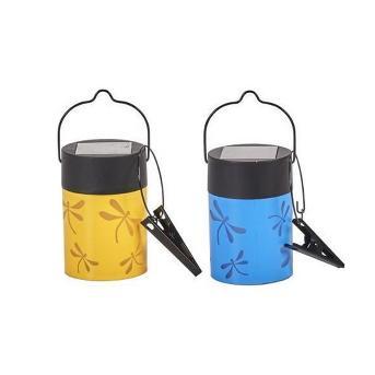 Smart Solar Fiesta Hanging Umbrella Solar Lanterns - Set of 4