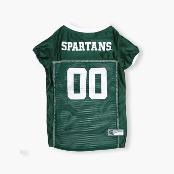 NCAA Pets First Michigan State Spartans Mesh Jersey - L