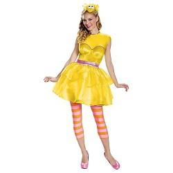 Sesame Street Big Bird Women's Sweetheart Dress Costume