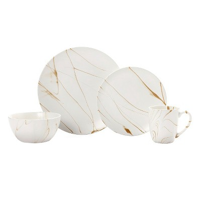 Pfaltzgraff Expressions® Savannah 16pc Dinnerware Set Caramel