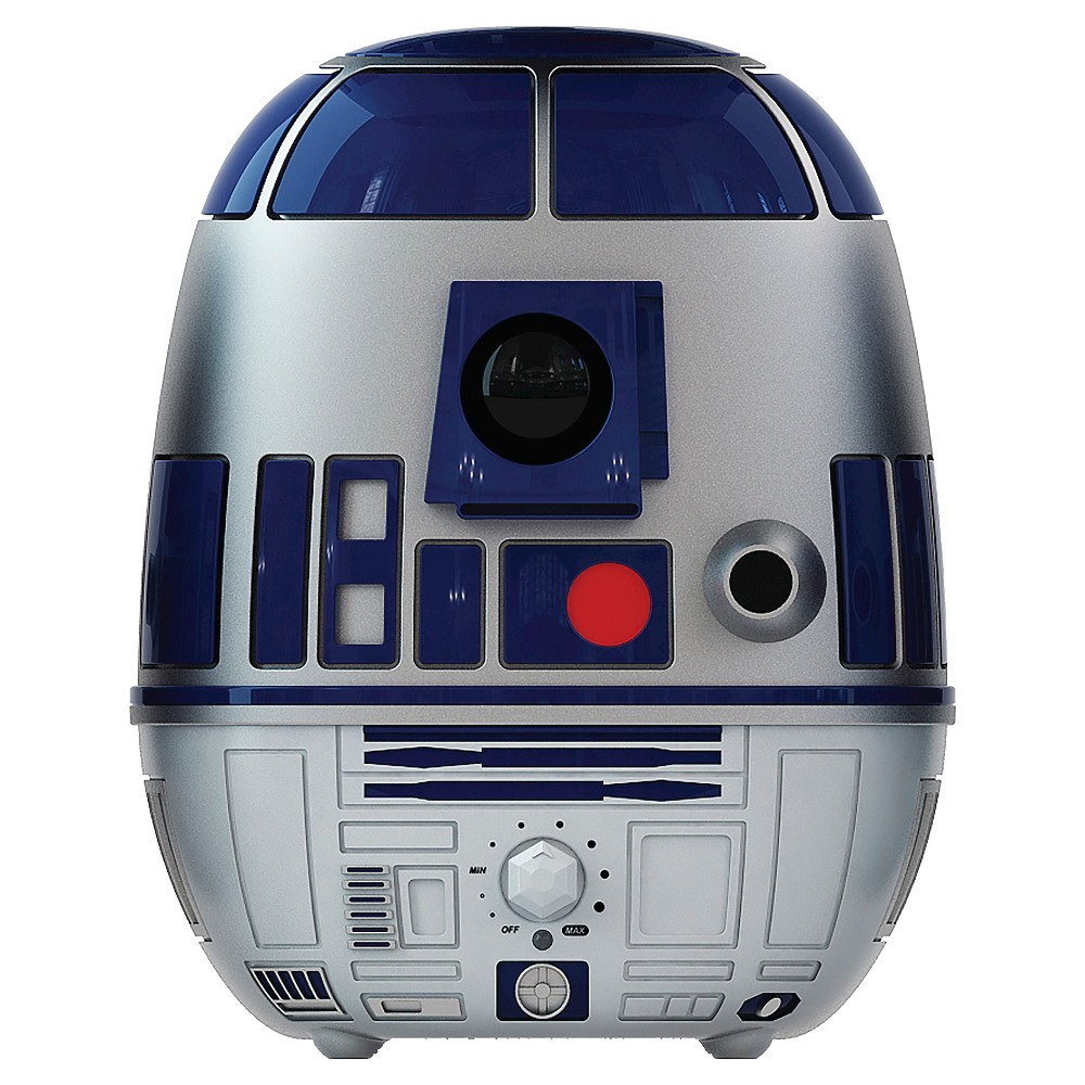 Star Wars R2D2 Ultrasonic Cool Mist Humidifier, Blue/White