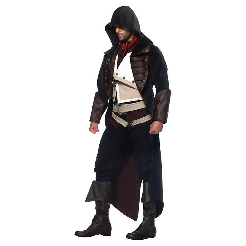 Men's Assassins Creed Arno 7pc Costume - (M/L), Black
