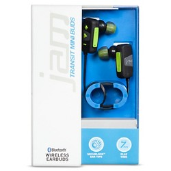 JAM Transit Mini Wireless Earbuds - Green