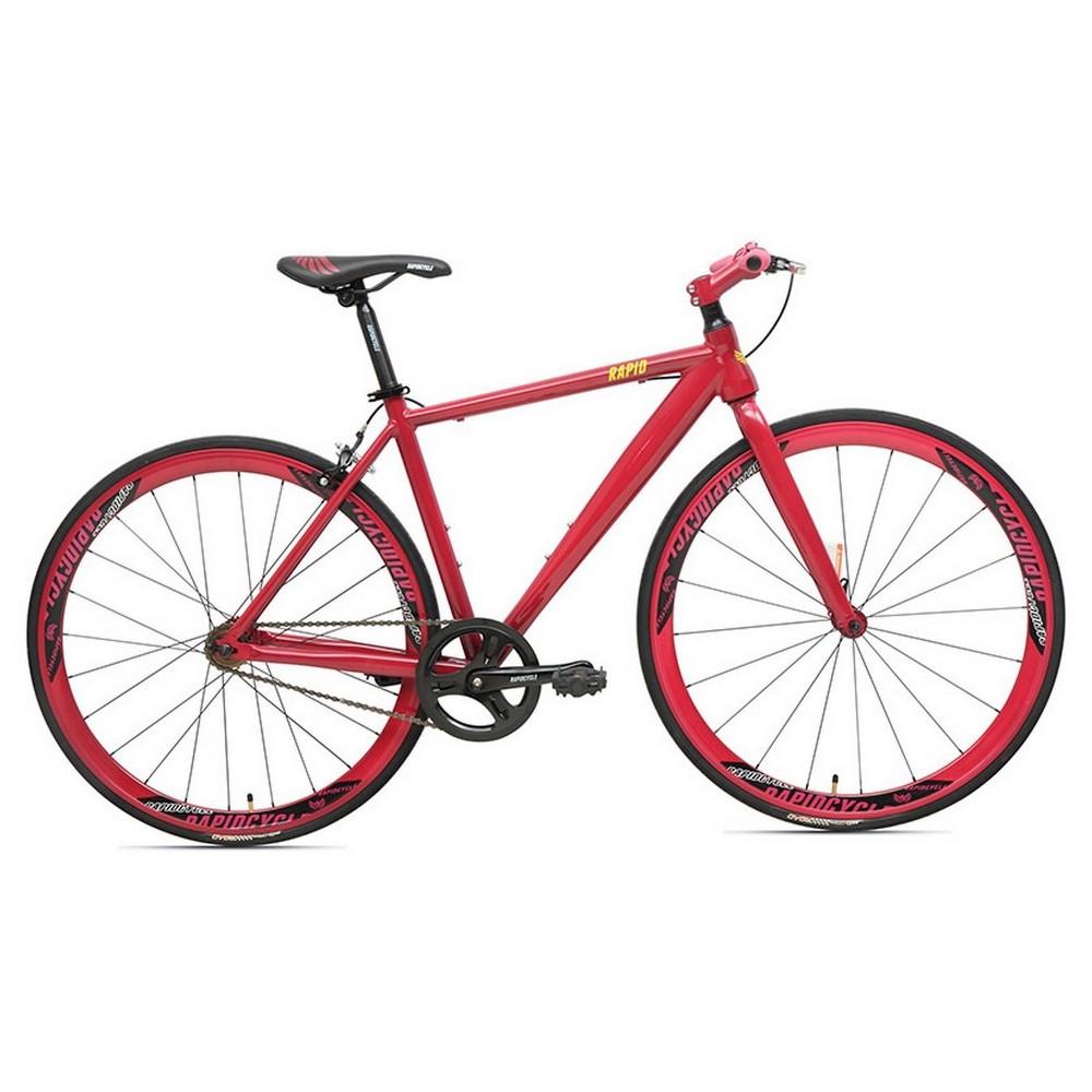 Rapid Cycle Evolve Flatbar Road Bike 19 - Purple, Dark Plum