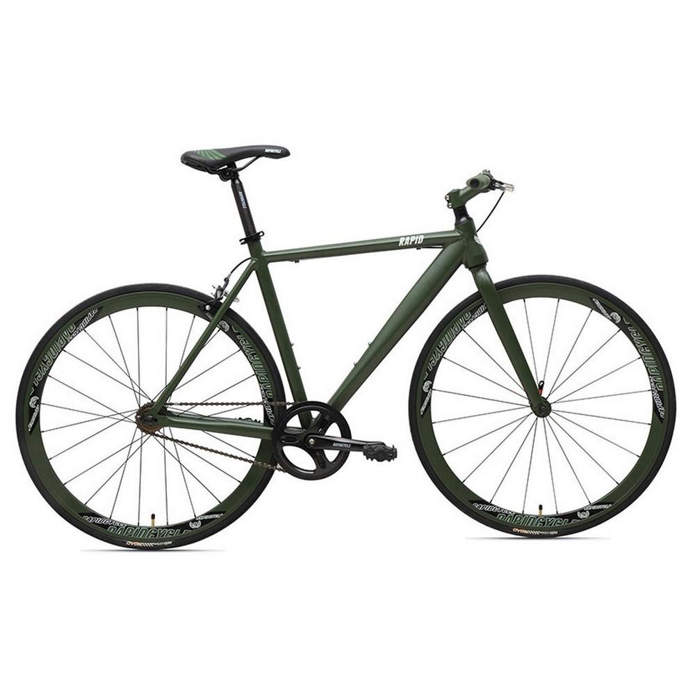 Rapid Cycle Evolve Flatbar Road Bike 21 - Green