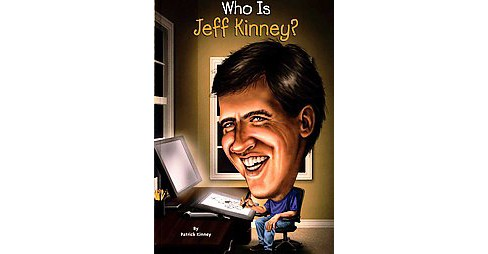 Who Is Jeff Kinney? (Who Is...?) (Paperback) by Patrick Kinney - image 1 of 1