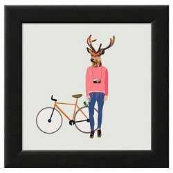 Art.com - Fashionable Hipster Deer