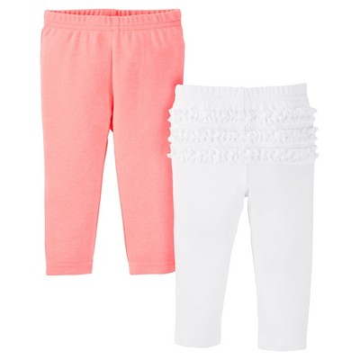 Just One You™ Made by Carter's® Baby Girls' 2pk Legging Pant - Pink NB
