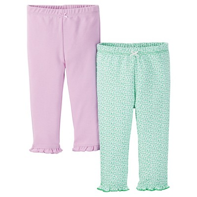 Just One You™ Made by Carter's® Baby Girls' 2pk Legging Pant - Purple 6 M
