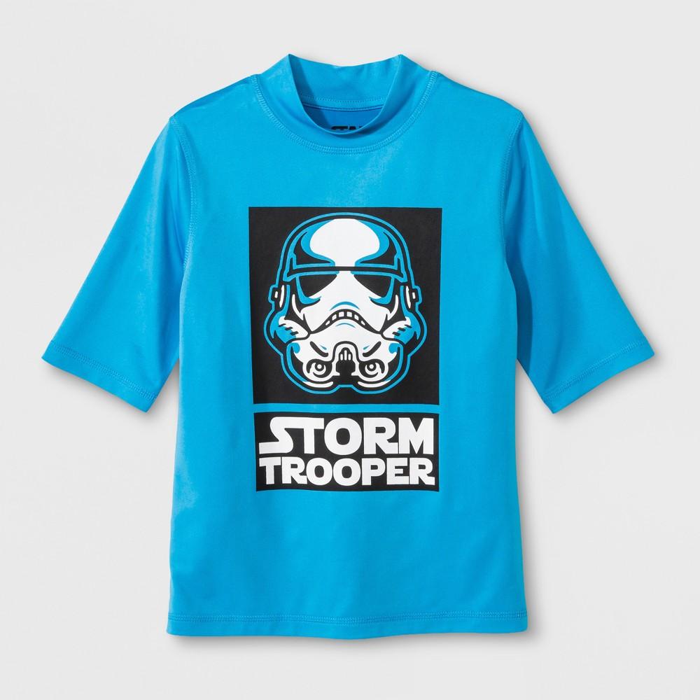 Star Wars Boys Rashguard - Turquoise L, Blue