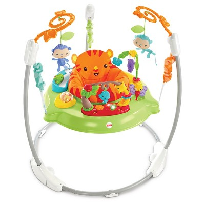 Fisher-Price Roarin' Rainforest Jumperoo - Green