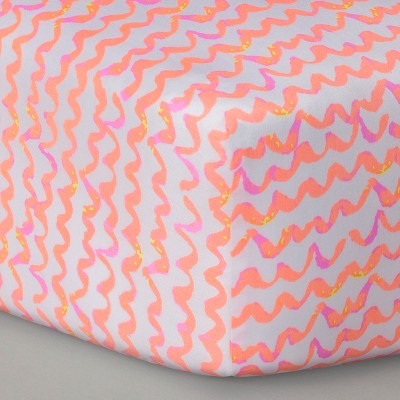 Oh Joy!® Woven Fitted Crib Sheet - Scallop