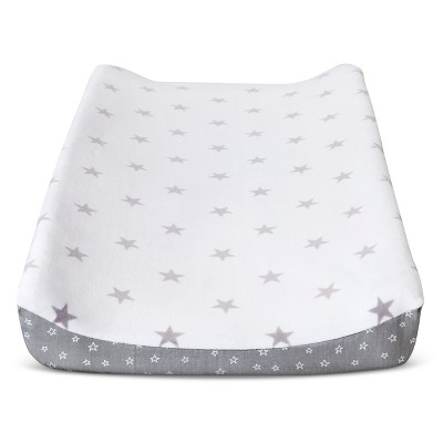 Circo™ Changing Pad Cover - Gray Star